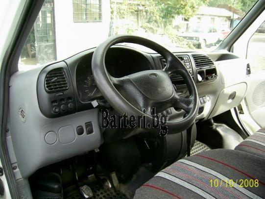 Форд Транзит 2.5 ТД, бордови, двойна кабина 3