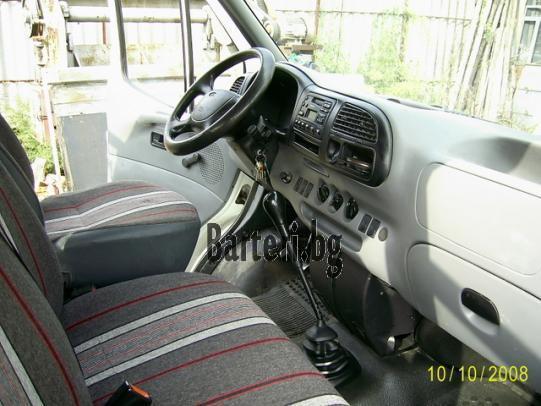 Форд Транзит 2.5 ТД, бордови, двойна кабина 4