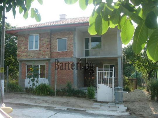 Продава или заменя нова двуетажна къща в село Горица  Поморийска община 1