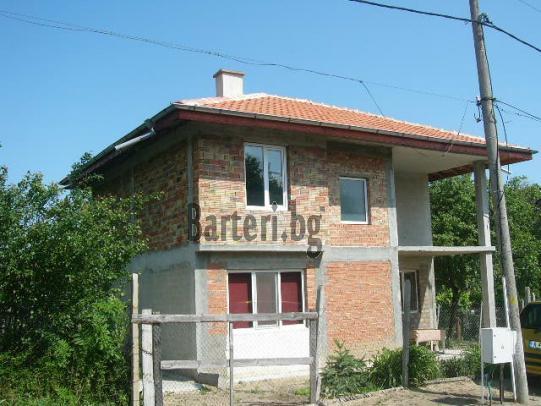 Продава или заменя нова двуетажна къща в село Горица  Поморийска община 2