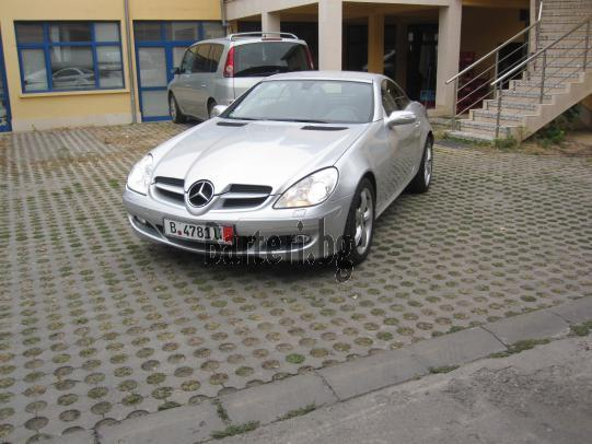 Mercedes SLK 350 7-G TRONIK 1