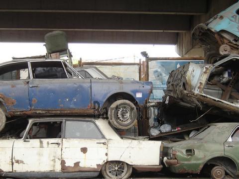 Рециклира стари коли 1