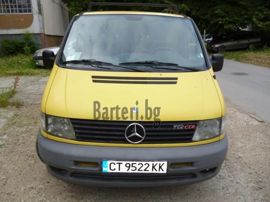 Продавам спешно, заменя Mercedes VITO за лек автомобил комби, ван след 2003 год  1