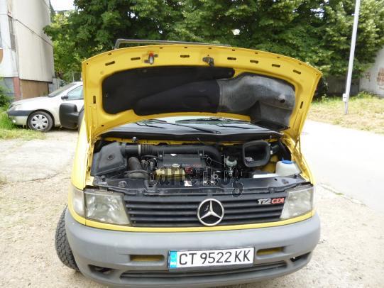 Продавам спешно, заменя Mercedes VITO за лек автомобил комби, ван след 2003 год  4